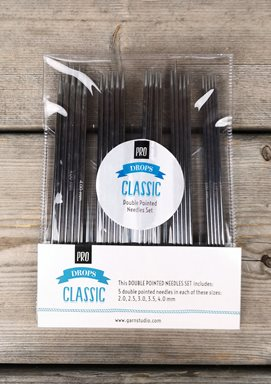 DROPS Pro Classic Double Pointed Needle Set